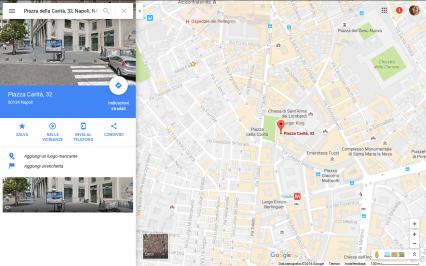 mappa piazza carità